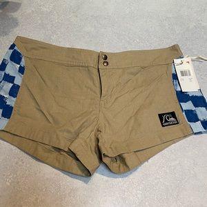 Quicksilver linen shorts